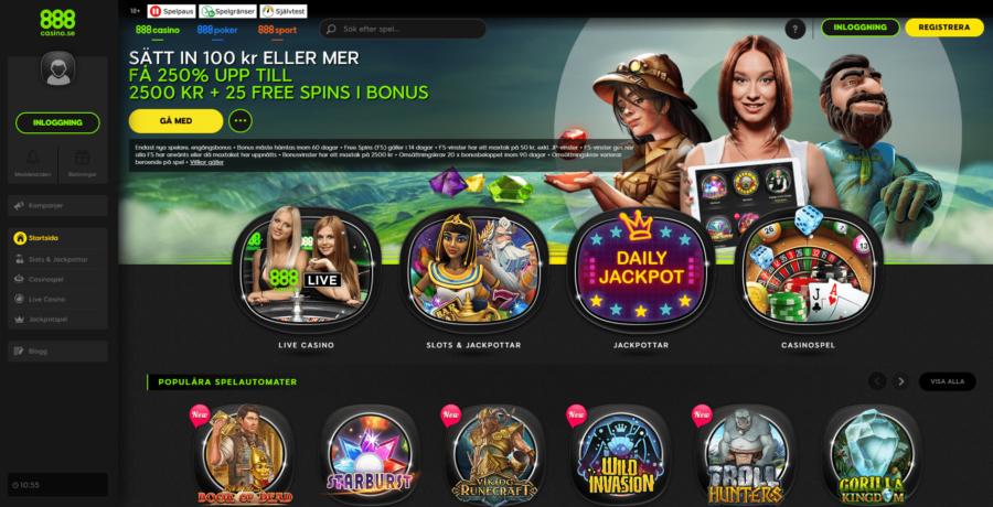 Casinospel 888 Casino