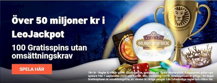 bild för leovegas casino bonusar