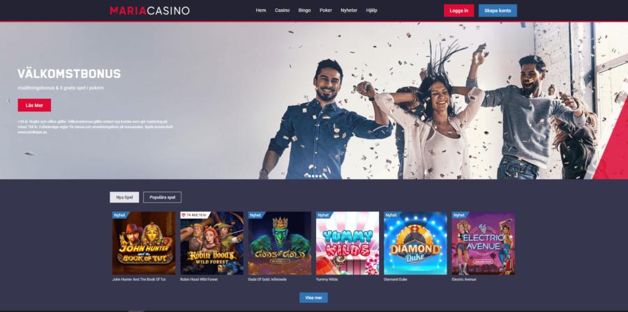 Casinospel Maria Casino
