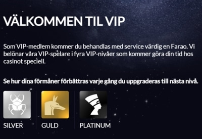 TempleNile Casino VIP-klubb